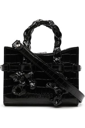 OTTOLINGER Dames Shoppers - Sofia abstract-handle patent bag