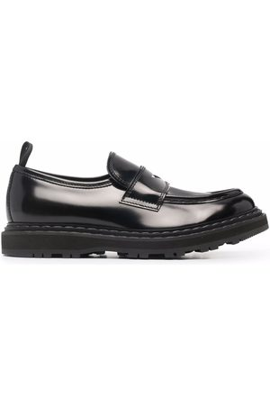 Officine creative High-shine leather loafers