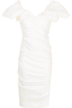 RACHEL GILBERT Ruched-design dress