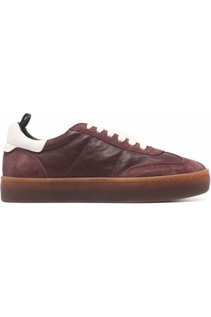Officine creative Dames Lage sneakers - Panelled low-top leather sneakers