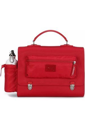 Dolce & Gabbana Logo-plaque satchel backpack