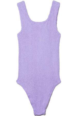 Hunza G Kids Classic seersucker swimsuit