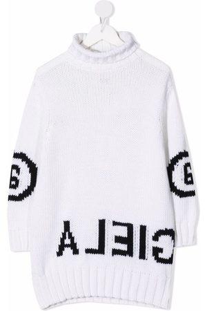 MM6 KIDS Meisjes Casual jurken - Logo knit dress