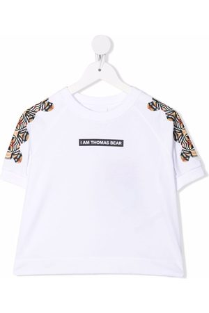 Burberry Meisjes T-shirts - Montage-print T-shirt