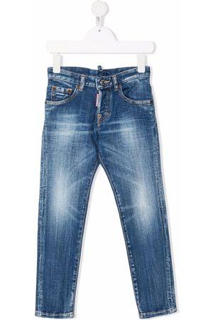 Dsquared2 Jongens Slim - Mid-rise slim-fit jeans