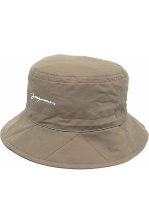 Jacquemus Dames Buckethat - Picchu logo-embroidered bucket hat