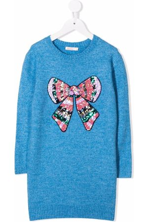 Billieblush Meisjes Jurken - Sequined knitted dress