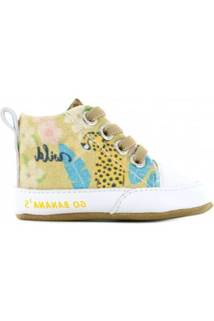 Go Banana's Meisjes Pantoffels - Pantoffels gb leopard-pre / grijs