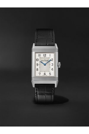 Jaeger-LeCoultre Heren Horloges - Reverso Classic Medium Thin Hand-Wound 24.4mm Stainless Steel and Alligator Watch, Ref. No. Q2548440