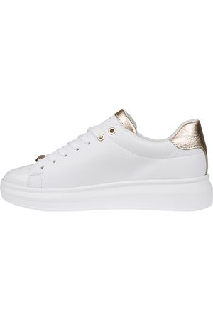 Cruyff Dames Sneakers - Pace White Gold Sneakers