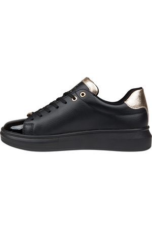 Cruyff Dames Sneakers - Pace Black Gold Sneakers
