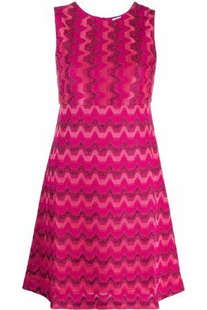 M Missoni Empire-line signature-knit dress