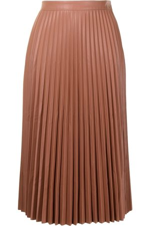 PROENZA SCHOULER WHITE LABEL Pleated faux-leather skirt
