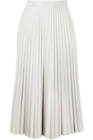 PROENZA SCHOULER WHITE LABEL Dames Leren rokken - Pleated faux-leather skirt