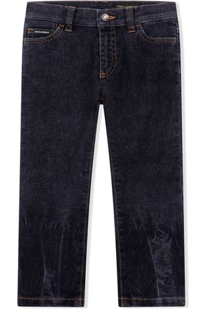 Dolce & Gabbana Faded straight-leg jeans