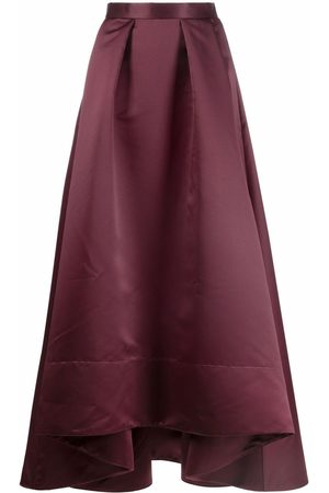 Pinko Dames Maxi rokken - High-low pleated long skirt