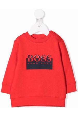 HUGO BOSS Sweaters - Logo print sweatshirt