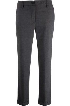 Aspesi Slim-fit cropped trousers