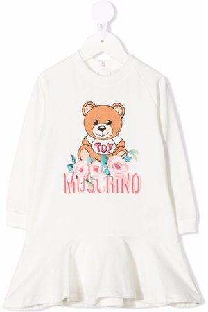 Moschino Meisjes Casual jurken - Toy bear frill sweatshirt dress