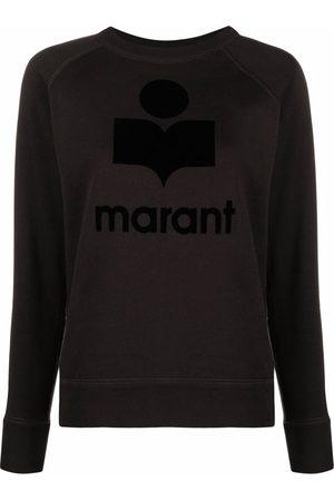 Isabel Marant Dames Sweaters - Emilly logo-print sweatshirt