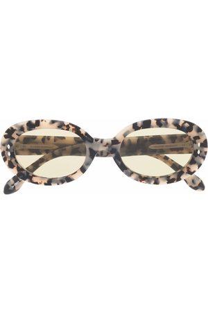 Isabel Marant Eyewear Zonnebrillen - Round tortoiseshell sunglasses
