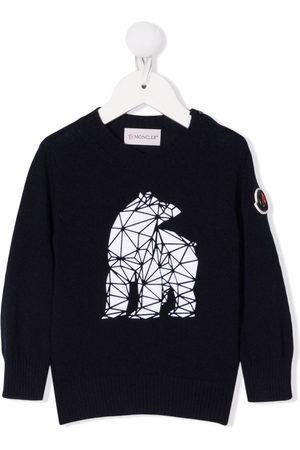Moncler Geometric-bear sweatshirt
