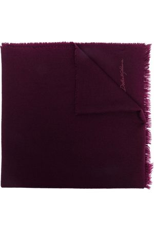 Dolce & Gabbana Heren Sjaals - Logo-embroidered cashmere scarf