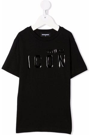 Dsquared2 Jongens T-shirts - Logo-print short-sleeved T-shirt