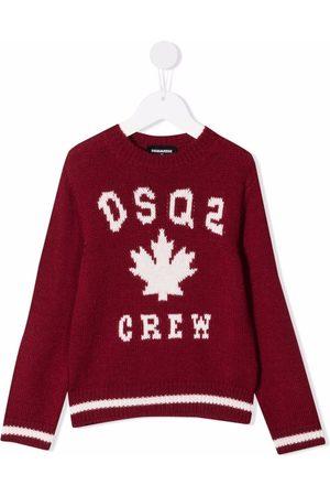 Dsquared2 Logo-knit jumper