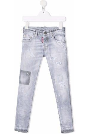 Dsquared2 Faded slim-cut jeans