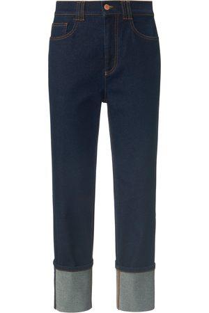 DAY.LIKE Wide Fit-jeans elastische tailleband Van denim
