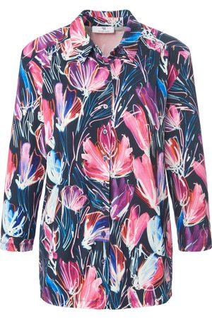 Peter Hahn Dames Blouses - Jersey blouse 3/4-mouwen en print Van