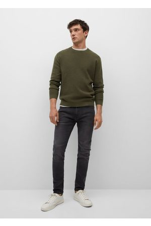 MANGO Jude skinny jeans met lichtgrijze wassing