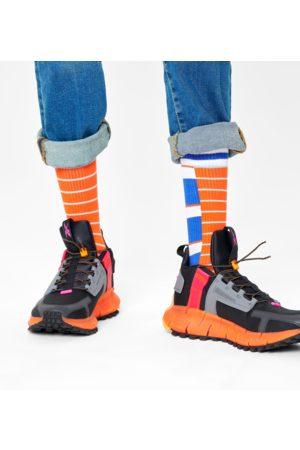 Happy Socks Half Half Thin Crew Sock