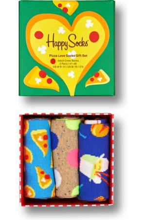 Happy Socks 3-Pack Pizza Love Socks Gift Set