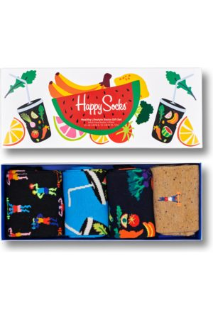 Happy Socks Sokken - 4-Pack Healthy Lifestyle Socks Gift Set