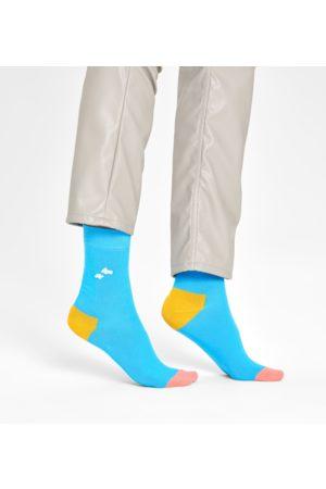 Happy Socks Sokken - Embroidery Cloudy Sock