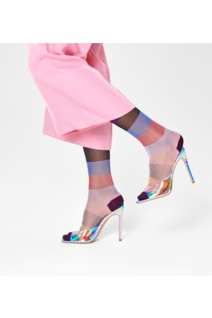 Happy Socks Sokken - Blanca Mid High Sock