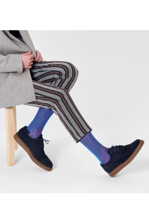 Happy Socks Dressed Stripe Rib Sock
