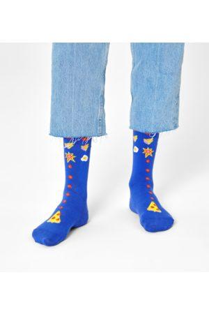 Happy Socks Sokken - Pizza Invaders Sock