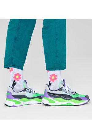 Happy Socks Sokken - Pixle Flower 3/4 Crew Sock