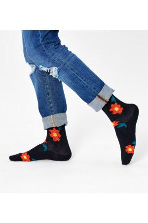 Happy Socks Pixle Flower 3/4 Crew Sock