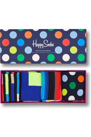 Happy Socks 4-Pack New Classic Socks Gift Set