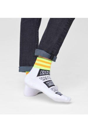 Happy Socks Sokken - Happy Stripe 1/4 Crew Sock