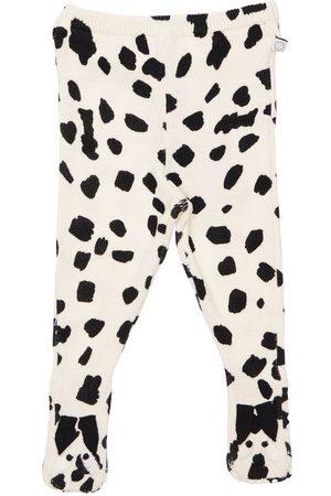 Stella McCartney Meisjes Leggings - Organic Cotton & Wool Knit Leggings