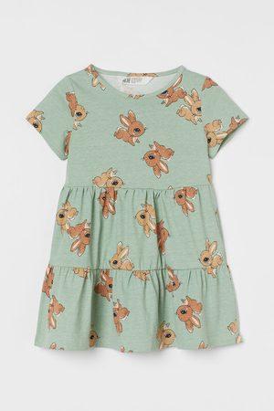 H&M Katoenen jurk met print