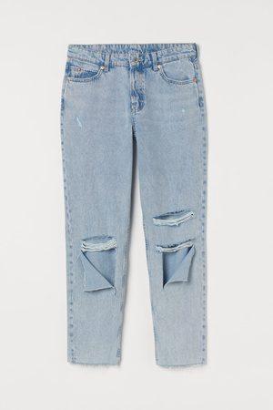 H&M Dames Boyfriend - Boyfriend Low Regular Jeans