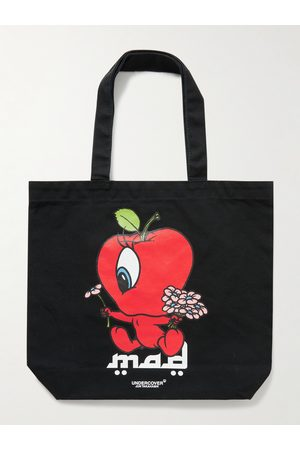 UNDERCOVER Heren Shoppers - MADSTORE Mini Printed Canvas Tote