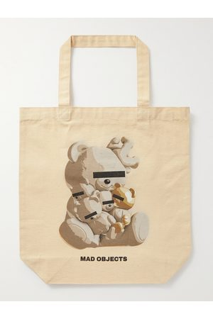 UNDERCOVER Heren Shoppers - Densuke28 Printed Cotton-Canvas Tote Bag
