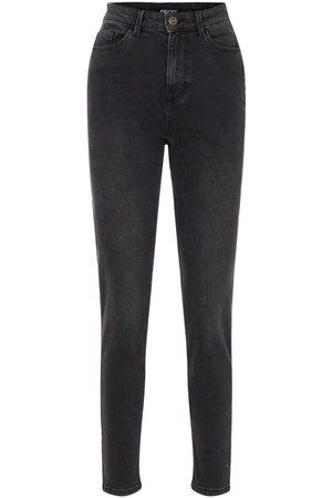 Pieces Dames High waisted - High-waist Mom Jeans